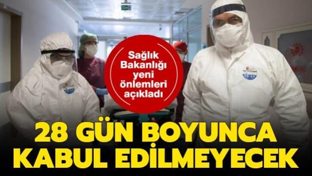 Sağlık Bakanlığı yeni koronavirüs kararını duyurdu! 28 gün boyunca kan bağışı kabul edilmeyecek