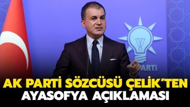AK Parti MKYK Toplantısı sonrası Ömer Çelik'ten önemli açıklamalar
