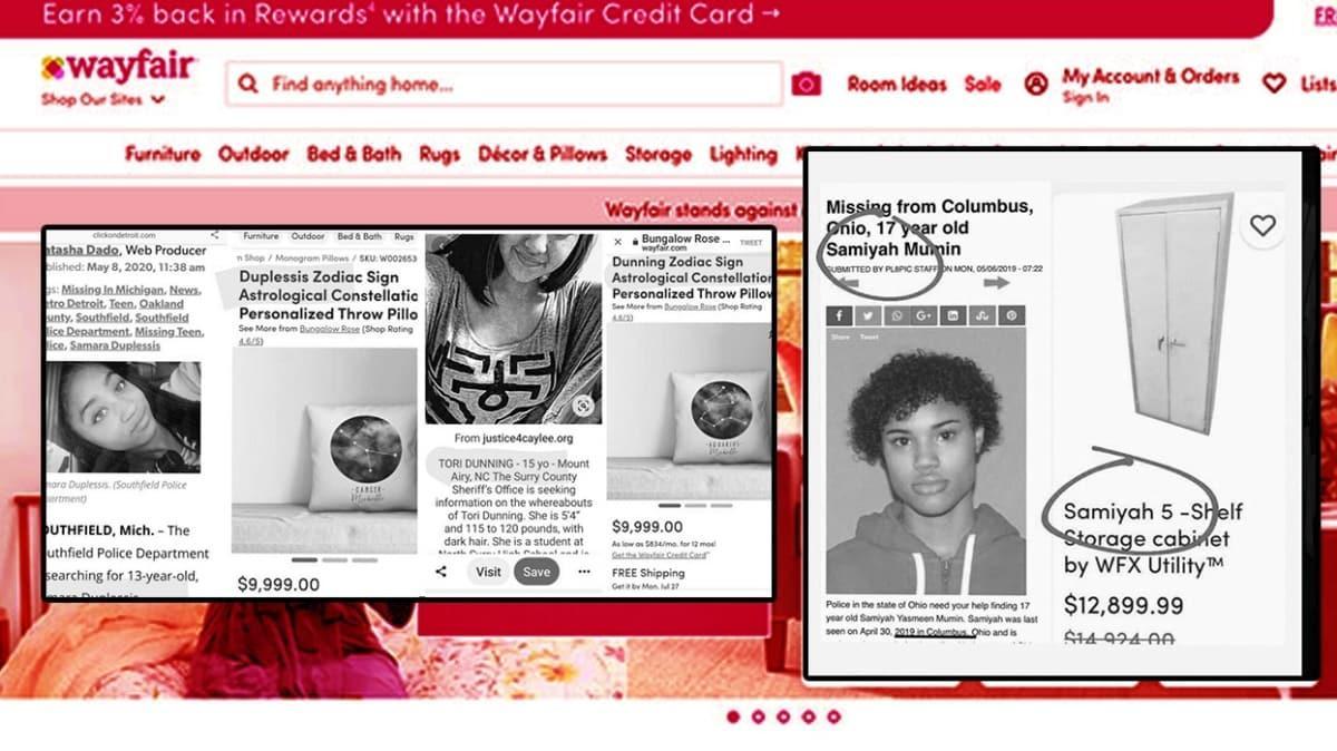 """Wayfair skandalı gündeme oturdu: Kayıp çocuklar Wayfair üzerinden mi satılıyor"""""""