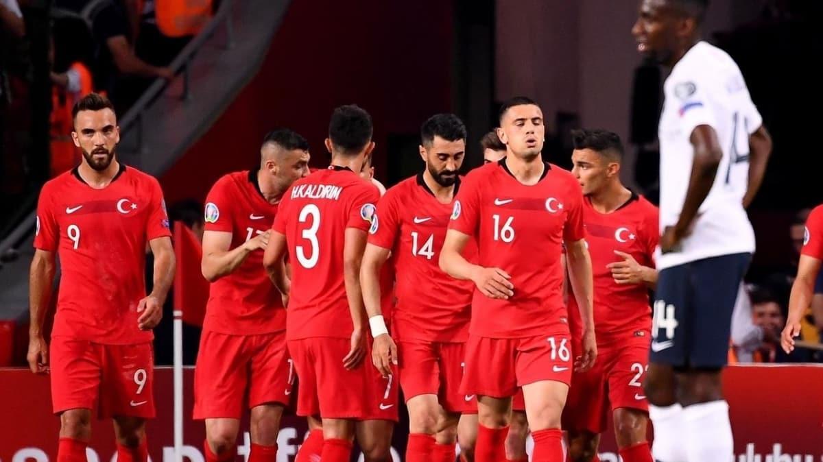 Milli takımımız, 7 Ekim'de Almanya ile hazırlık maçına çıkacak