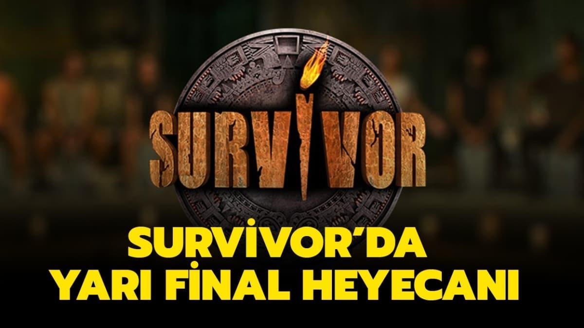 """Survivor yarı finalinde neler yaşanacak"""" Finalistler kimler oldu"""""""