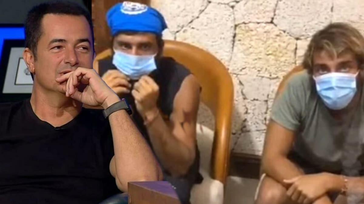 Survivor Cemal Can'ın maske tepkisi sosyal medyanın gündemine oturdu