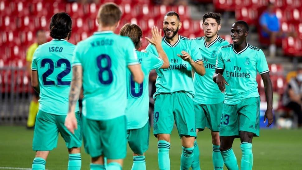 Real Madrid'in lig şampiyonluğunu ilan etmesine bir adım kaldı