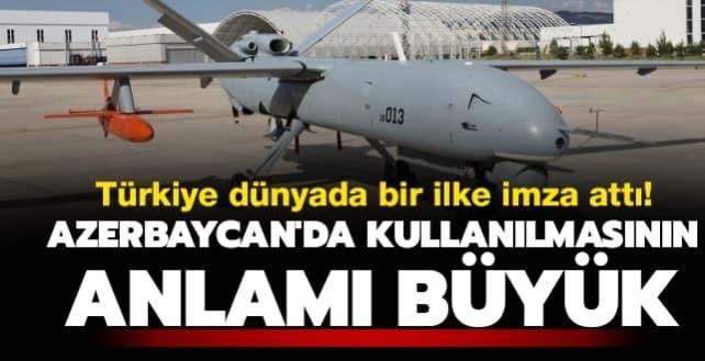 Türkiye dünyada bir ilke imza attı! 'Şimşek'in Azerbaycan'da kullanılmasının anlamı büyük'