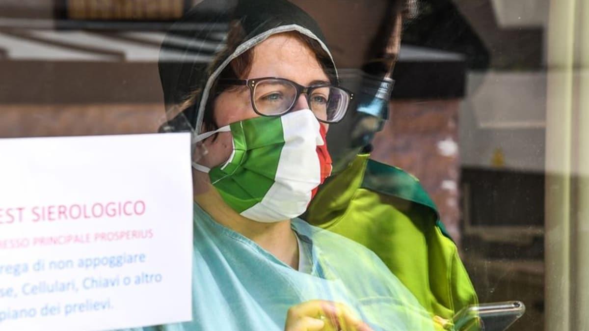 İtalya'da koronavirüsten ölenlerin sayısı 34 bin 984'e yükseldi