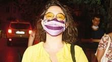 Kalben hemen maskesini taktı: Linç edilmek istemiyorum!