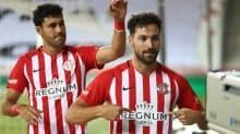 Antalyaspor'da Sinan ve Fredy sevinci