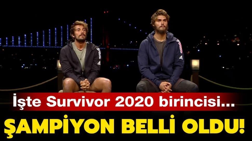 """Survivor birincisi Acun Ilıcalı tarafından açıklandı! Survivor 2020 şampiyonu kim oldu"""" Kim kazandı"""""""