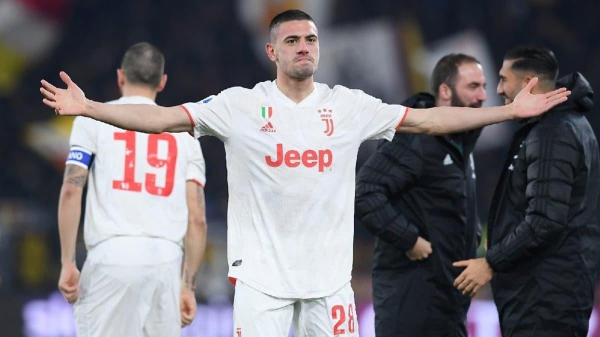 Juventus'ta sakatlığını atlatan Merih Demiral, Sassuolo maçının kadrosunda