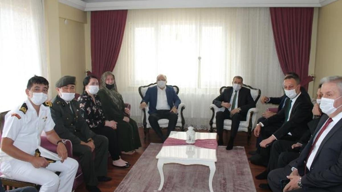Başkan Erdoğan'dan şehit ailesine telefon