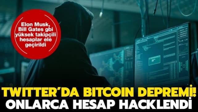 Twitter'da Bitcoin sahtekarlığı depremi! Elon Musk, Bill Gates ve Apple dahil onlarca hesap hacklendi