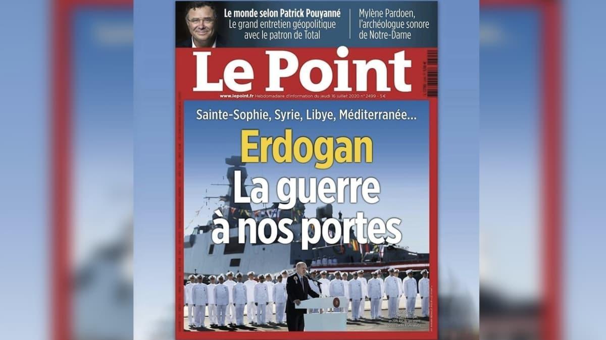 """Fransız derginin gündeminde Türkiye... """"Kapımızdaki savaş"""""""