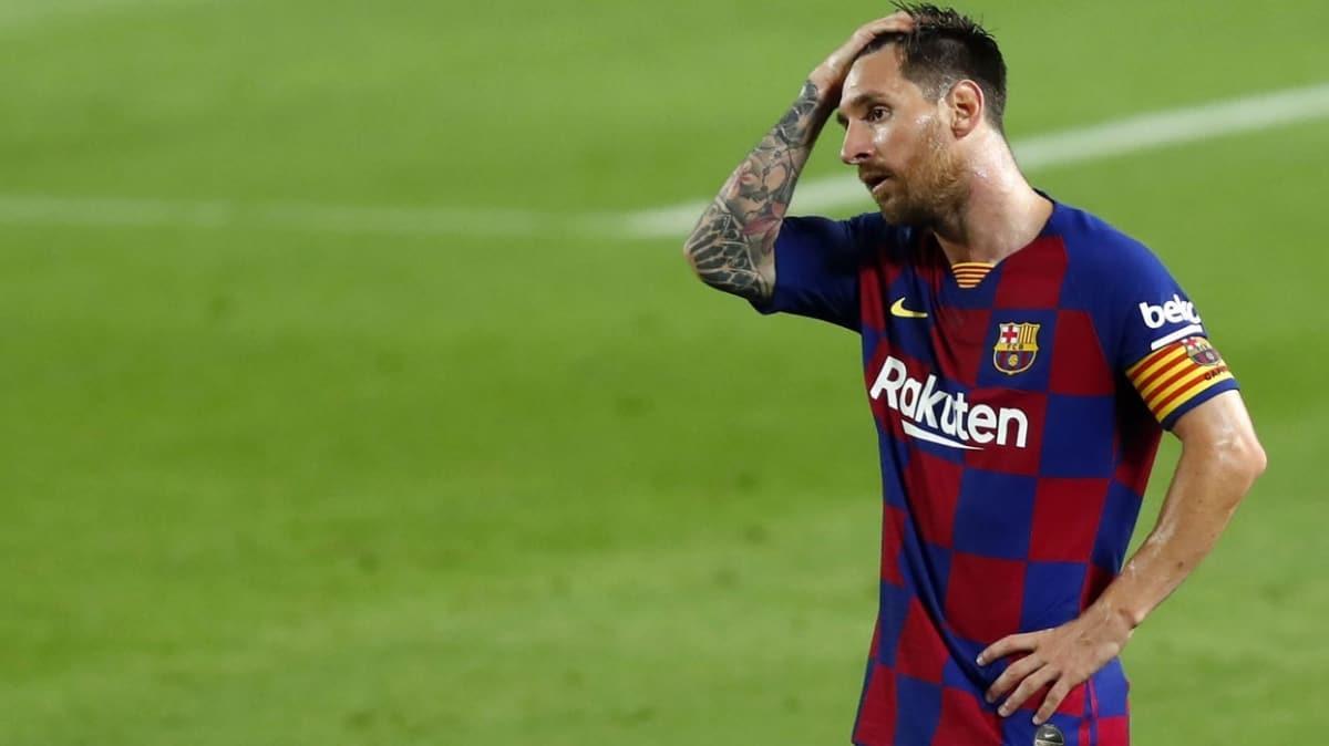 Messi: 'Böyle giderse Şampiyonlar Ligi de hayal'