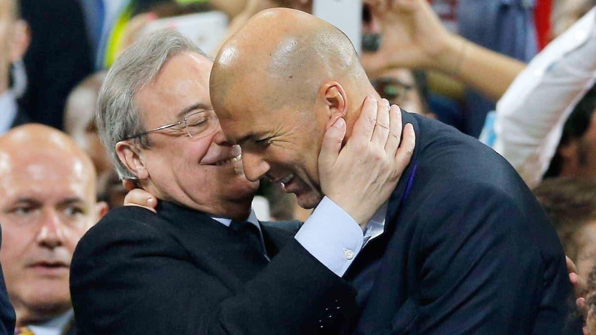 Perez: 'Zidane cennetten bir nimet gibi'