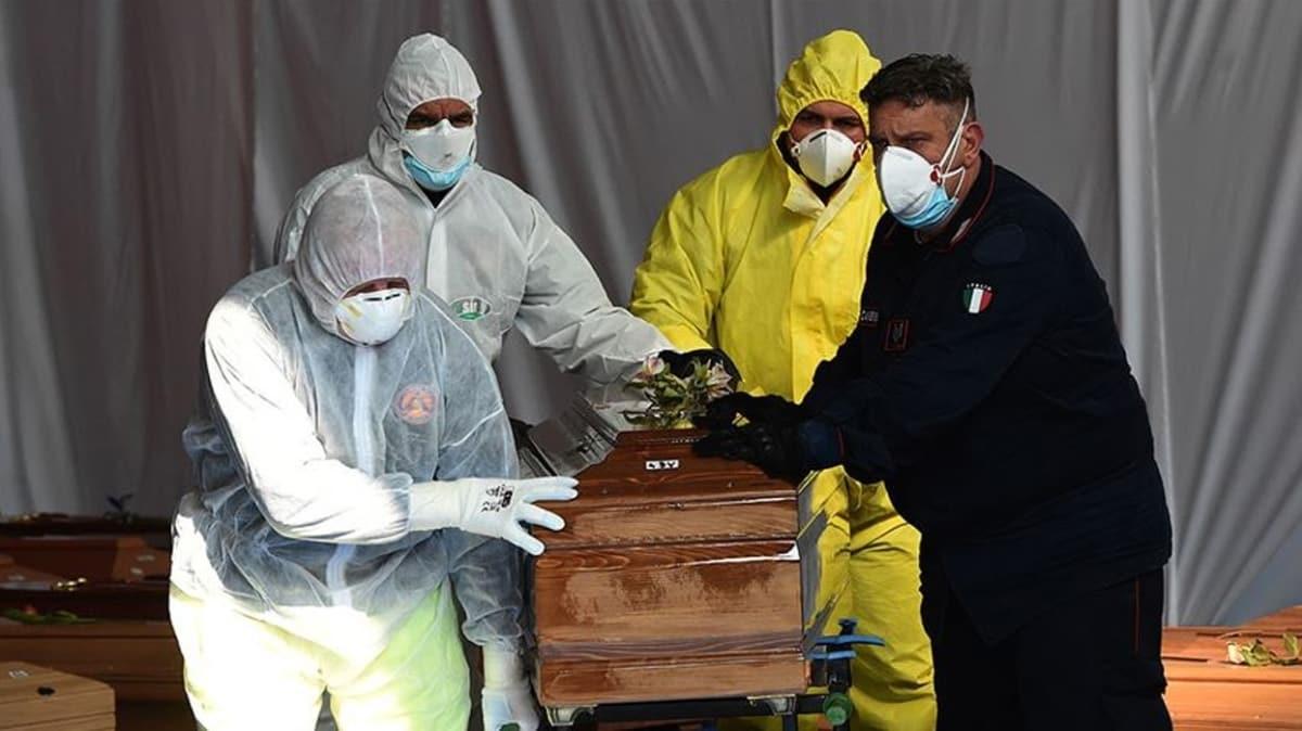 İtalya'da koronavirüsten ölenlerin sayısı 35 bin 28'e yükseldi