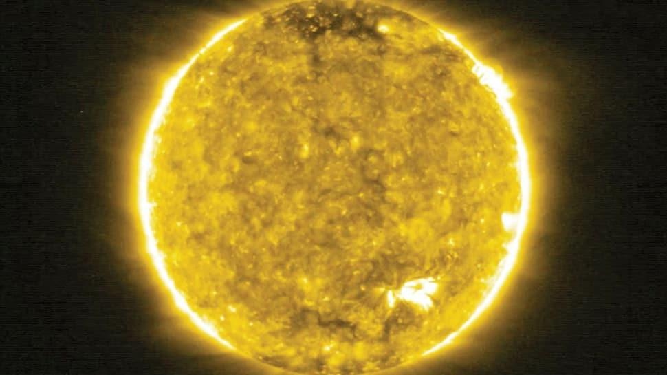 Güneş'in içinden ilk kare çekildi