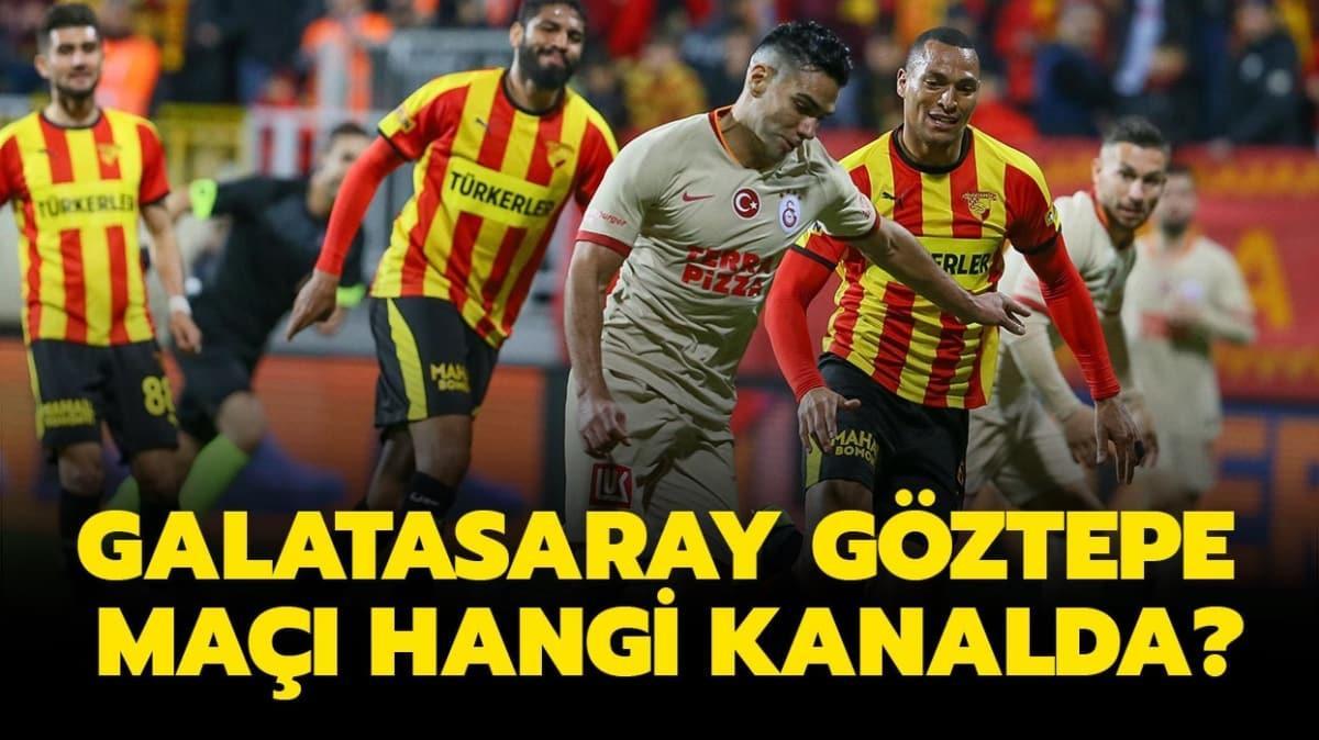 """GS Göztepe maçı saat kaçta, hangi kanalda"""" Galatasaray Göztepe maçı şifresiz mi"""""""