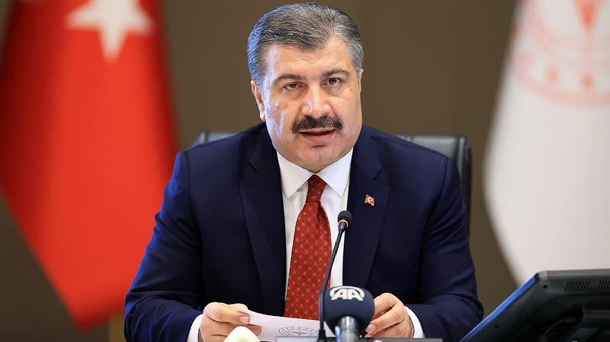 Sağlık Bakanı Koca açıkladı... Türkiye'de koronavirüste son durum