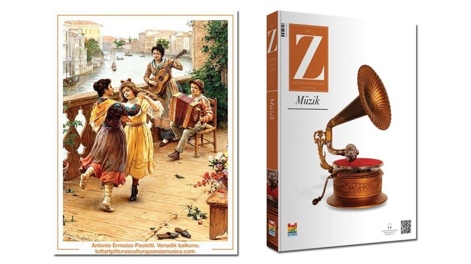 Kültür sanat dergisi 'Z' dijital ortamda! Zeytinburnu'ndan iki kaynak eser