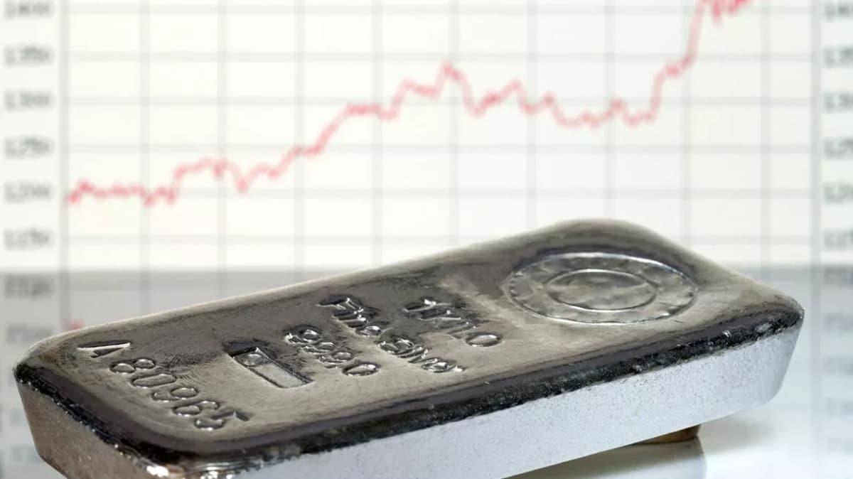 Gümüş fiyatları 7 yılın zirvesinde
