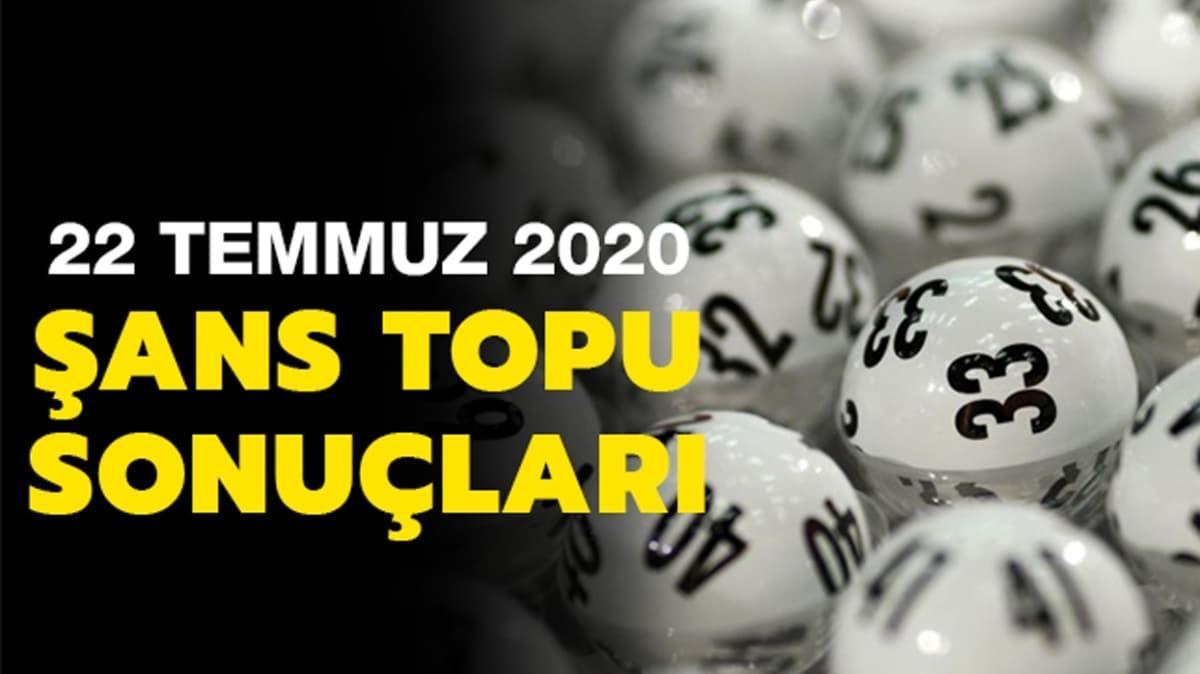 Şans Topu sonuçları 22 Temmuz 2020