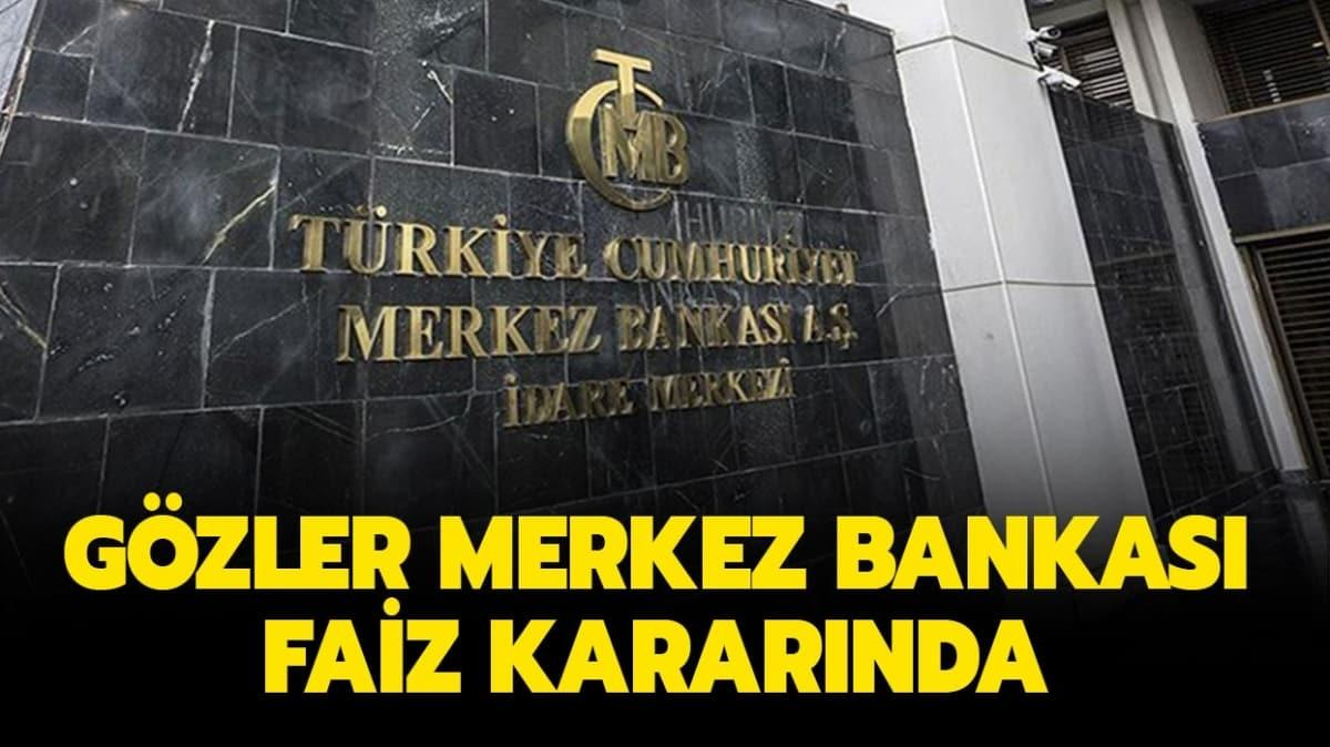 Merkez Bankası faiz kararı açıklandı! İşte beklenen o karar