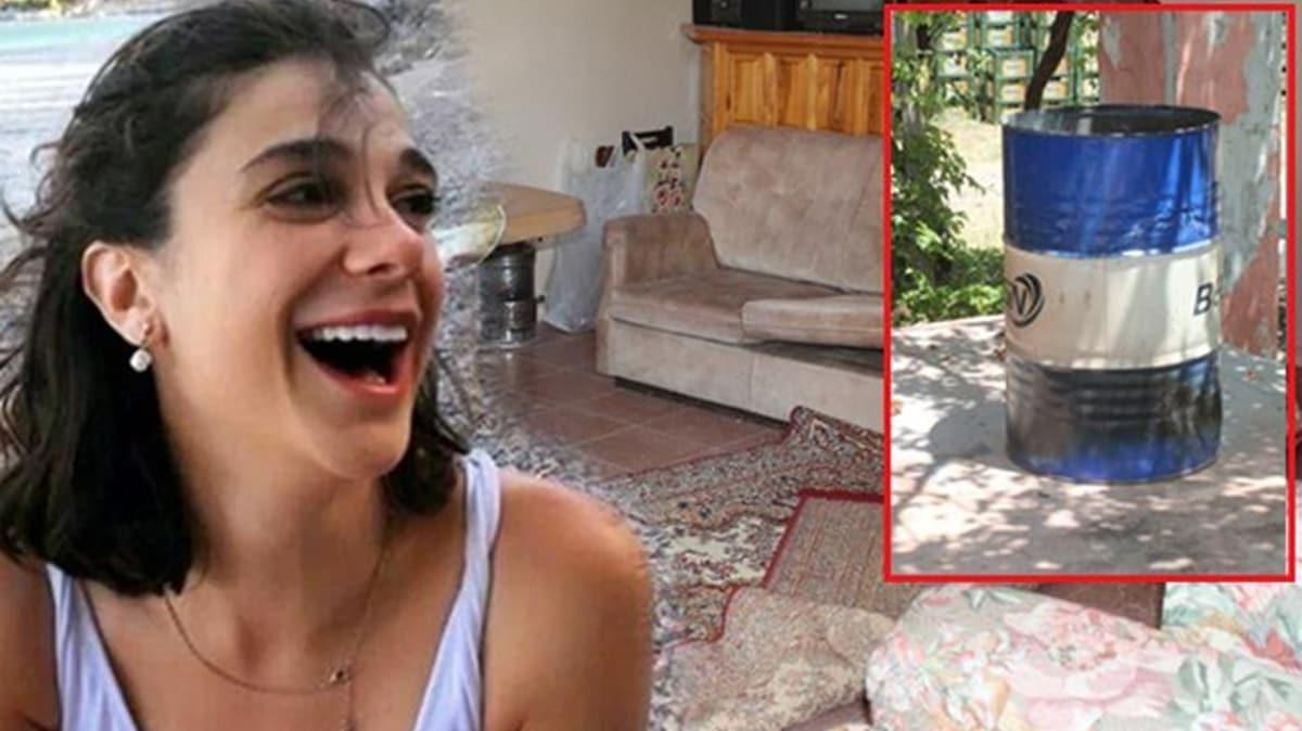 Varilin çevresinde kül izleri hala duruyor... İşte Pınar Gültekin'in katledildiği ev