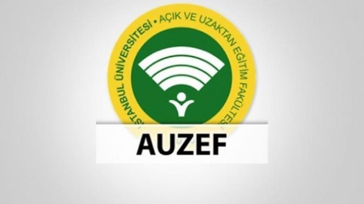 AUZEF final sonucu sorgulama sayfası: AUZEF sınav sonuçları açıklandı!