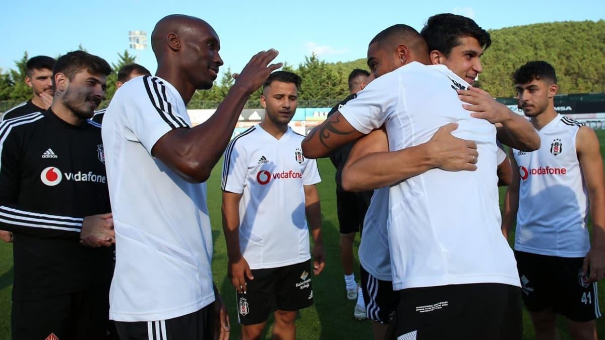 Beşiktaş'ta Boateng, takımla vedalaştı