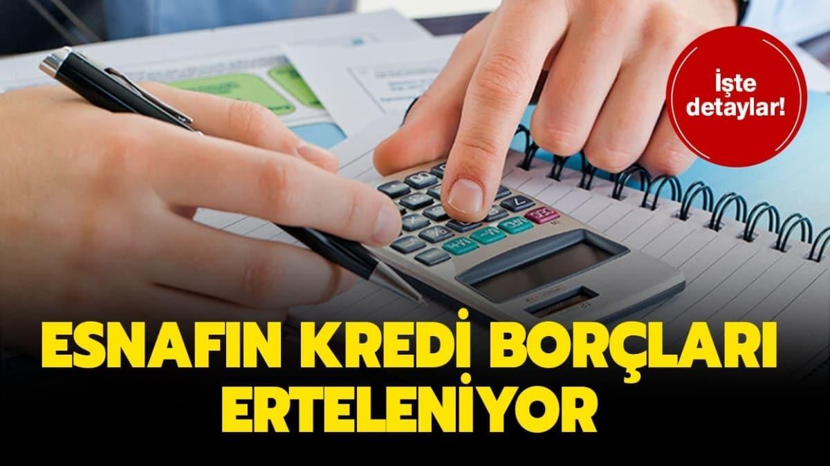 """Kredi borçları ertelendi mi"""" Halkbank kredi erteleme başvurusu nasıl yapılır"""""""