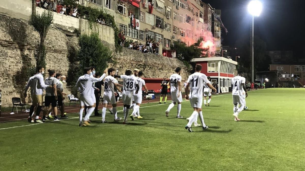 TFF 1. Lig play-off yarı final ilk maçları tamamlandı
