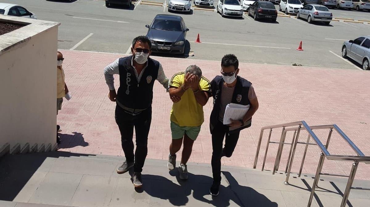 Genç kızı tehdit ettiği iddiasıyla tutuklanmıştı... Zanlının Kovid-19 testi pozitif çıktı!