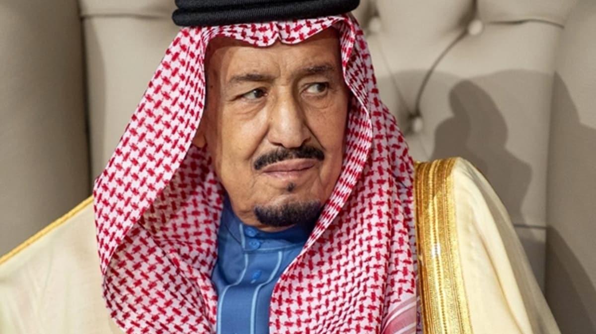 Kral Selman rahatsızlık sebebiyle kaldırıldığı hastanede ameliyat oldu