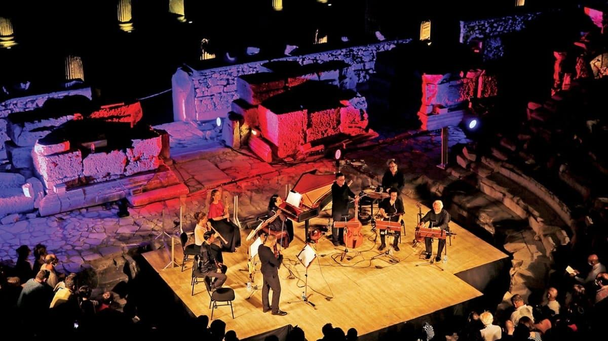 Efes'te saray müzikleri