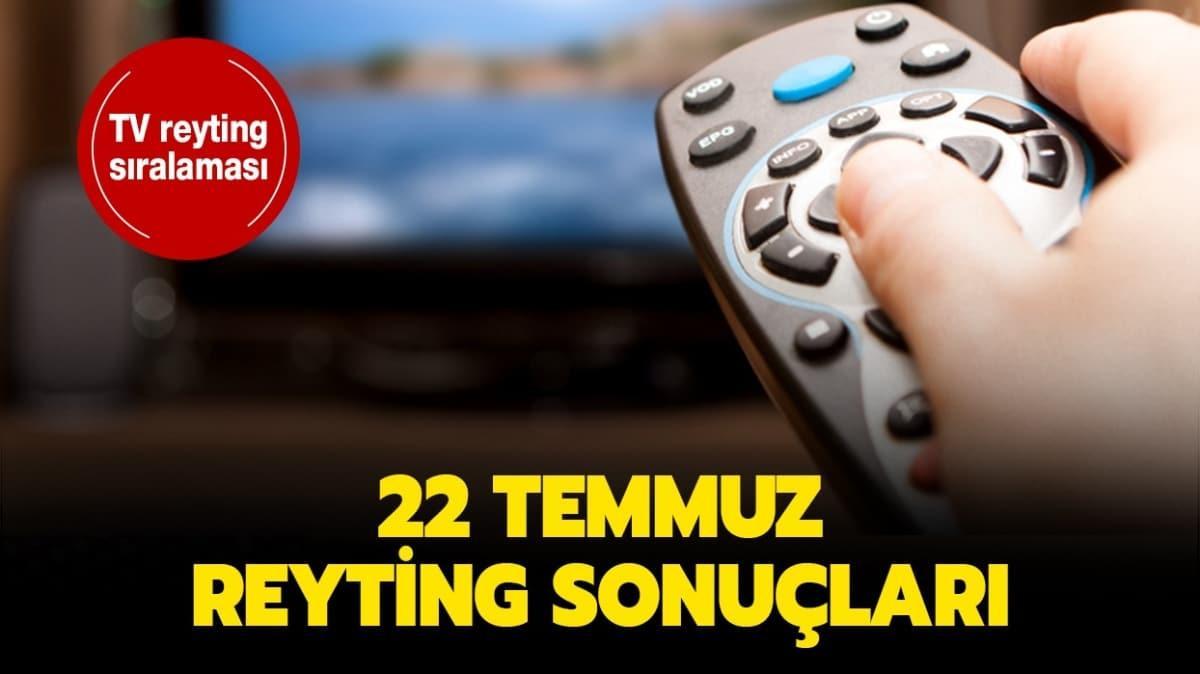"""22 Temmuz 2020 reyting sonuçları yayında! Aşk-ı Memnu, Sen Çal Kapımı reyting sıralaması nasıl"""""""