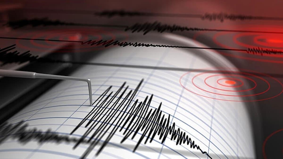 Çin'de 6,6 büyüklüğünde deprem