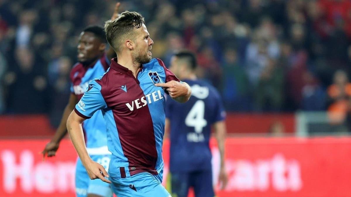 Trabzonspor'dan Filip Novak'a yüzde 50 zamlı yeni sözleşme teklifi