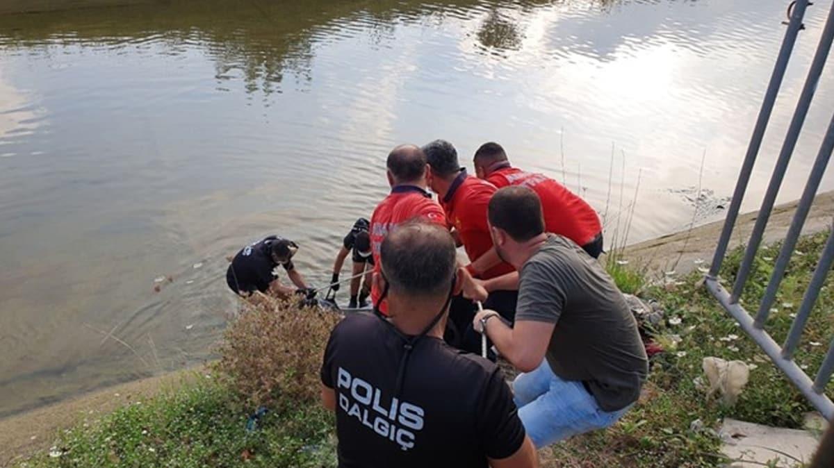 Acı haber: Köpeği kurtarmak için kanala atlayan gencin cansız bedenine ulaşıldı
