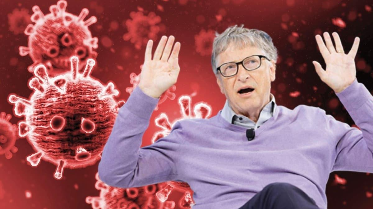 Virüs komplosu ve mikroçip iddiasına Bill Gates'ten yanıt: Gerçekten haberim yok!