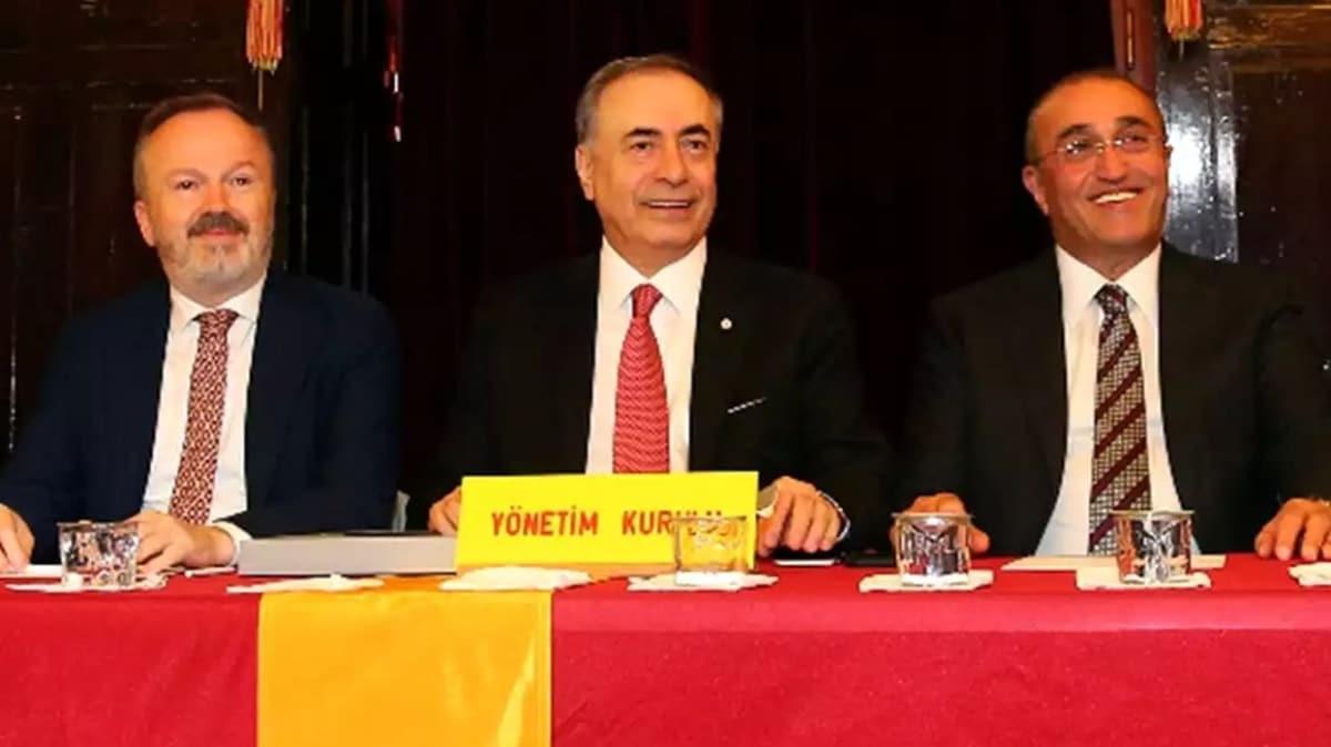 Galatasaray yönetimi elini çabuk tuttu