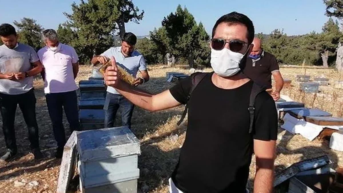 Erdemli'de arı kovanlarına zarar verildiği iddiası