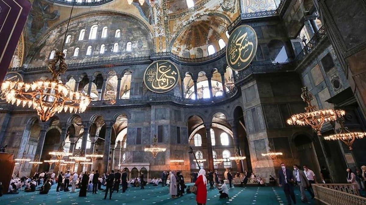 Başkan Erdoğan'dan Ayasofya Camii talimatı... 24 saat ibadete açık olacak