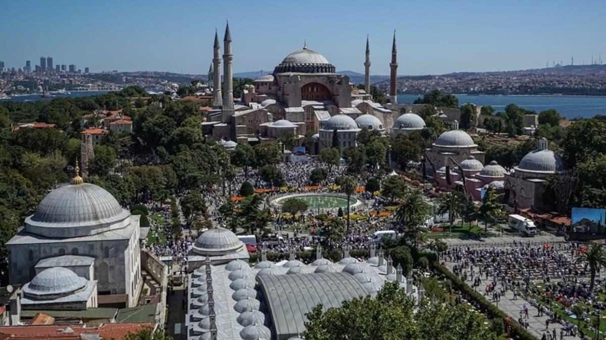 Özbekistan Cumhurbaşkanı'ndan Başkan Erdoğan'a 'Ayasofya' telefonu