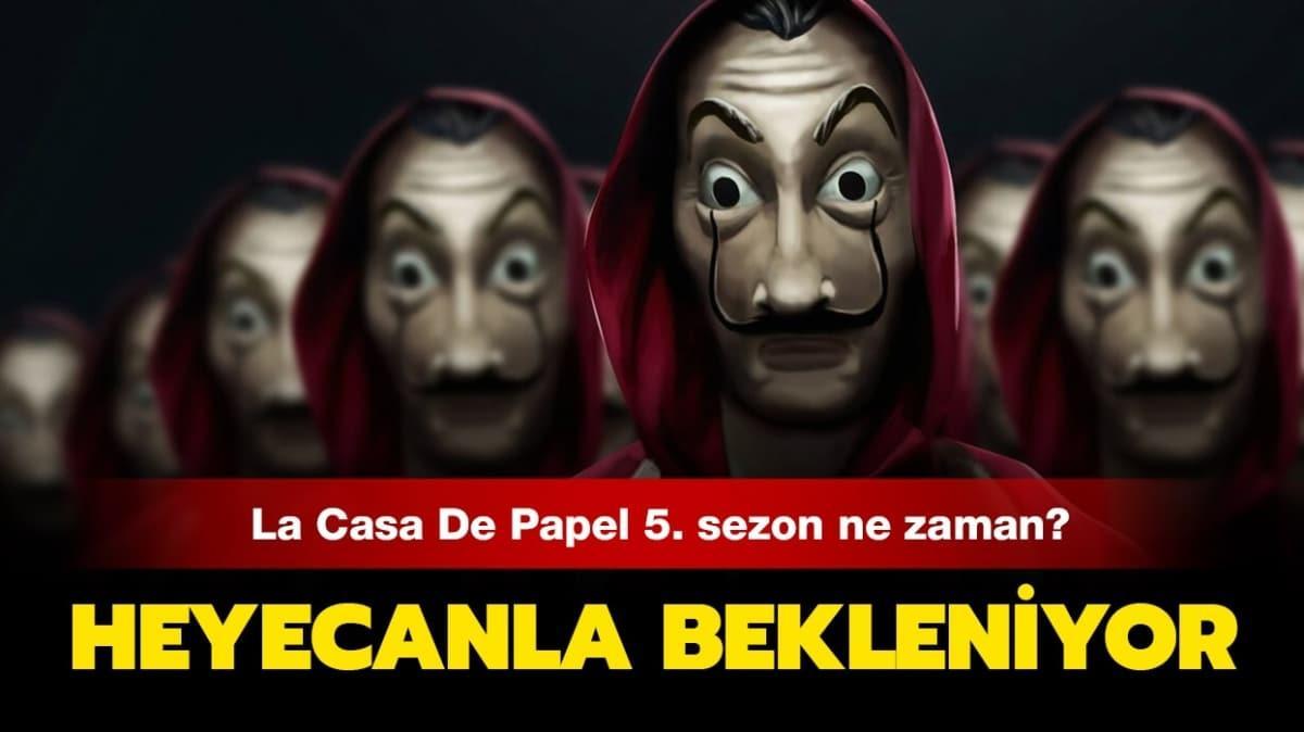 La Casa De Papel 5. sezon için bekleyiş sürüyor