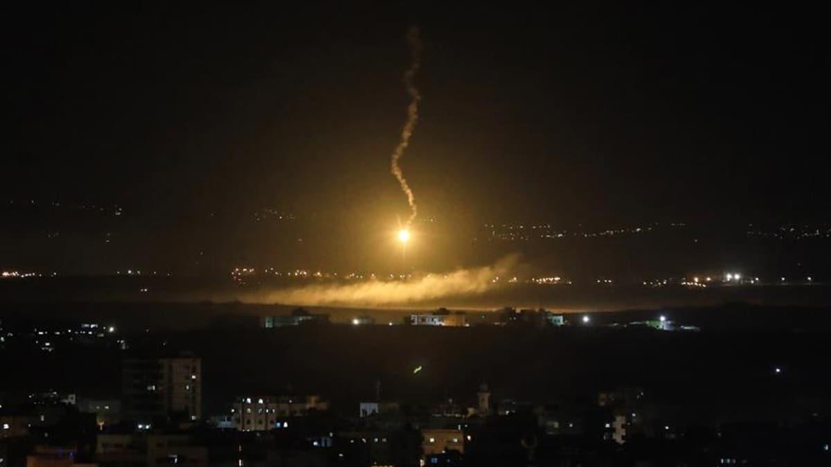 İsrail'den Suriye'nin güneyine hava saldırısı!