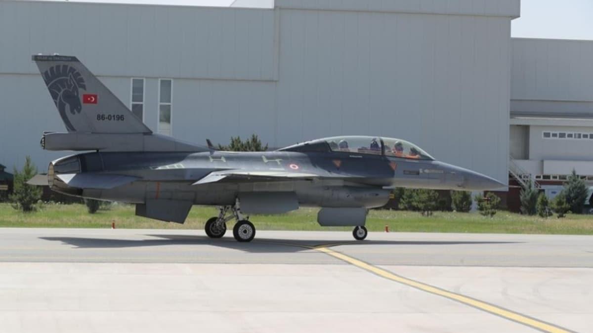 Savunma Sanayii Başkanlığı'ndan F-16 paylaşımı: Ömürlerini uzatıyoruz