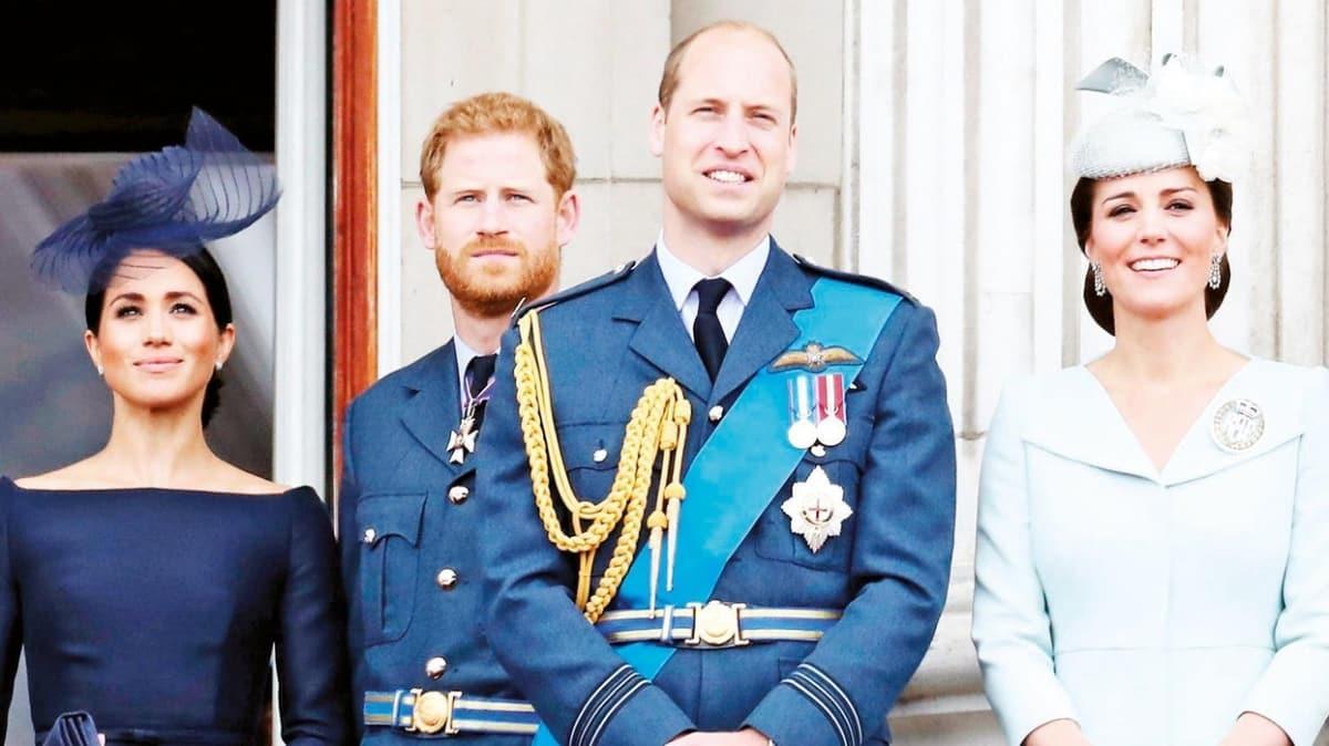 "Prens Harry ve Meghan Markle, Prens William ve Kate'i kıskandı mı"""