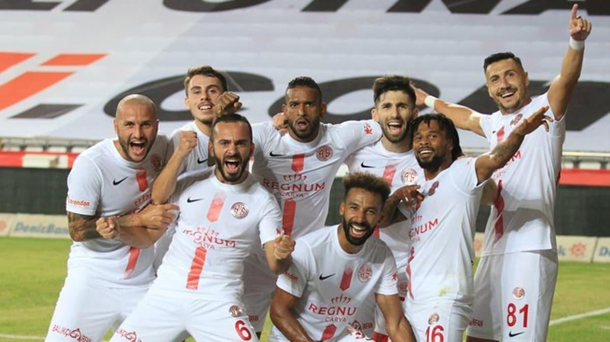 Antalyaspor ligin ikinci yarısında birçok rekor kırdı