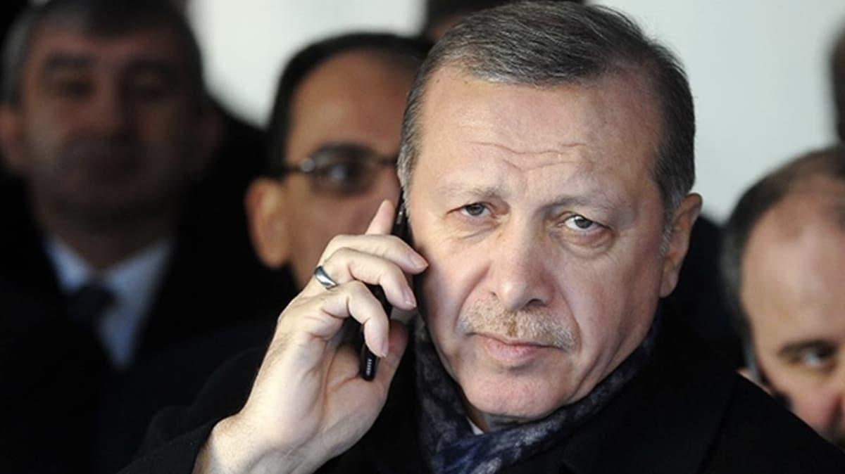 Başkan Erdoğan Libya Başbakanı Serrac ile görüştü