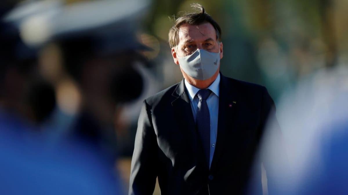 Brezilya Devlet Başkanı Bolsonaro yeni tip koronavirüsten kurtuldu